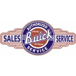 BUICK SERVICE STATION SIGN