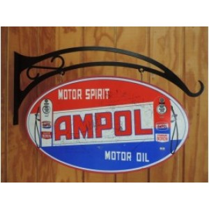 AMPOL DOUBLE SIDED SWING SIGN