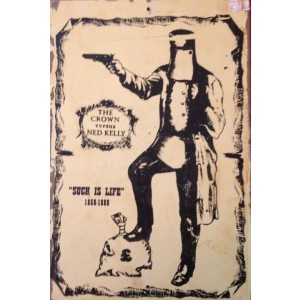 NED KELLY STEEL SIGN