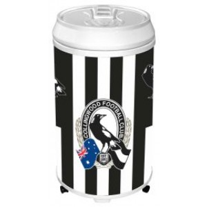 AFL COLLINGWOOD COOLER CAN BAR FRIDGE