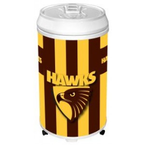 AFL HAWTHORN COOLER CAN BAR FRIDGE