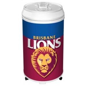 AFL BRISBANE COOLER CAN BAR FRIDGE