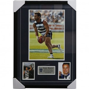 JIMMY BARTEL SIGNED FRAMED