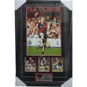 DUSTIN FLETCHER - FRAMED WITH SIGNATURE