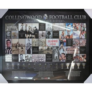 COLLINGWOOD FOOTBALL CLUB - CELEBRATING OUR HISTORY FRAMED