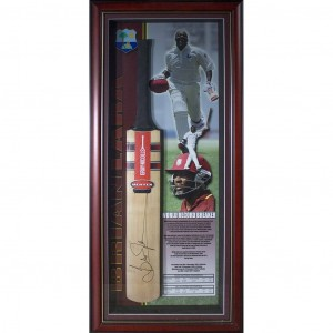 BRIAN LARA WORLD RECORD BREAKER BAT