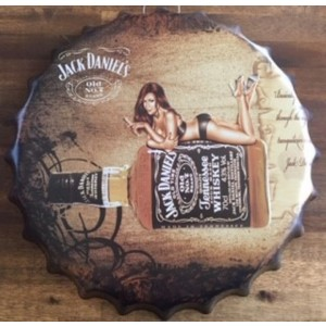 JACK DANIEL'S LADY BOTTLE CAP