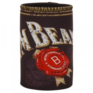JIM BEAM SPECKLED STUBBY HOLDER