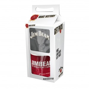 JIM BEAM MUG & SOCK GIFT PACK
