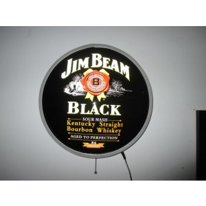 JIM BEAM BLACK LED WALL LIGHT