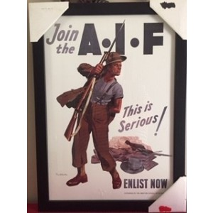 JOIN THE AIF FRAMED PRINT