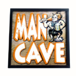 MAN CAVE LED LIGHT BOX