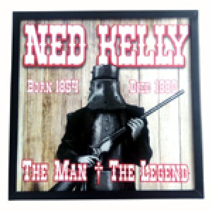 NED KELLY LED LIGHT BOX