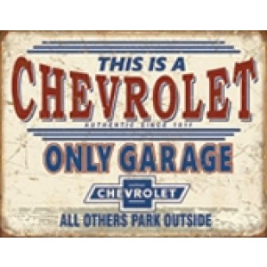 CHEVROLET ONLY GARAGE