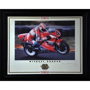 MICK DOOHAN PRINT 500cc 1994 WORLD CHAMPION FRAMED PRINT