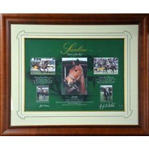 SUNLINE QUEEN OF THE TURF FRAMED PRINT