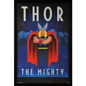 MARVEL THE MIGHTY THOR FRAMED POSTER