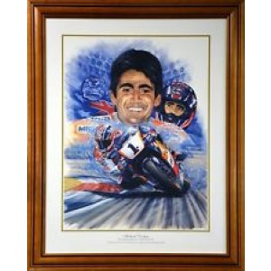 MICK DOOHAN CELEBRATION FRAMED PRINT