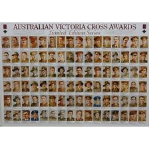 THE AUSTRALIAN VICTORIA CROSS WINNERS FRAMED POSTER