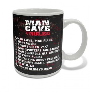 MAN CAVE COFFEE MUG