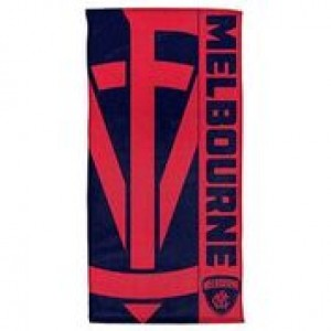 AFL MELBOURNE BEACH TOWEL