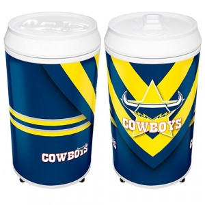 NRL COWBOYS COOLA CAN BAR FRIDGE