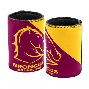 NRL BRISBANE BRONCOS STUBBY HOLDER