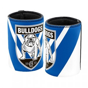 NRL BULLDOGS STUBBY HOLDER