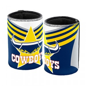 NRL COWBOYS STUBBY HOLDER
