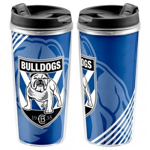 NRL BULLDOGS TRAVEL MUG