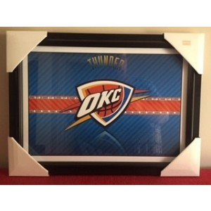 NBA OKC FRAMED LOGO