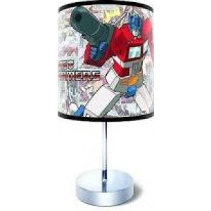 TRANSFORMERS OPTIMUS PRIME DESK LAMP