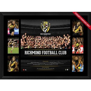 RICHMOND 2016 TEAM PREMIERGRAPH FRAMED