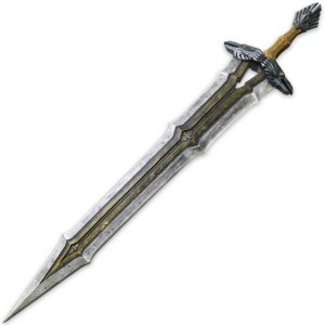 THE HOBBIT -  LARP REGAL SWORD OF THORIN OAKENSHIELD