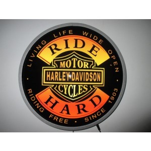 HARLEY RIDE HARD LED WALL LIGHT