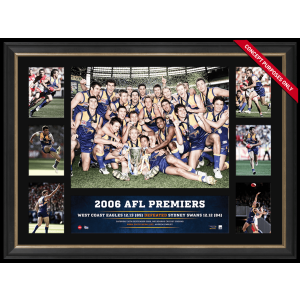 WEST COAST EAGLES 2006 PREMIERS SUPER FRAME