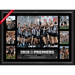 COLLINGWOOD 2010 PREMIERS SUPER FRAME