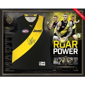 DUSTIN MARTIN ROAR POWER SIGNED BROWNLOW JUMPER