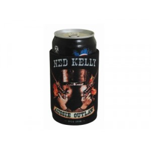 NED KELLY - AUSSIE OUTLAW STUBBY HOLDER