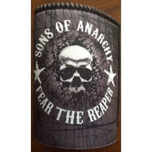 SONS OF ANARCHY FEAR THE REAPER STUBBY HOLDER