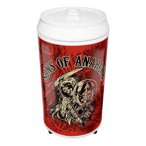 SONS OF ANARCHY COOLA CAN BAR FRIDGE