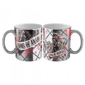 SONS OF ANARCHY METALLIC COFFEE MUG