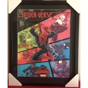 SPIDER-VERSE COMIC FRAMED PRINT