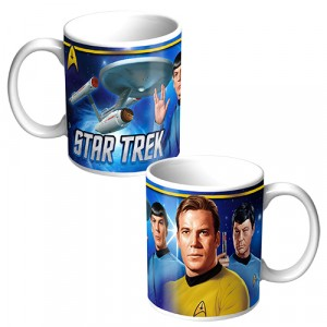 STAR TREK RETRO MUG