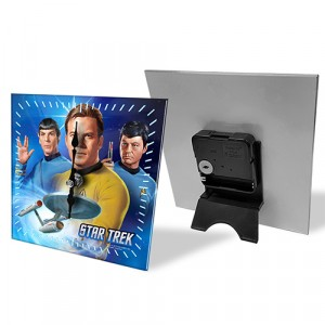 STAR TREK MINI DESK CLOCK