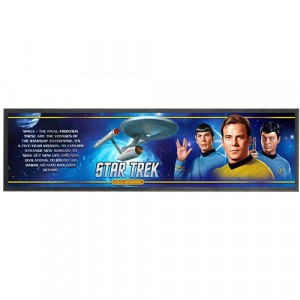 STAR TREK RETRO BAR RUNNER