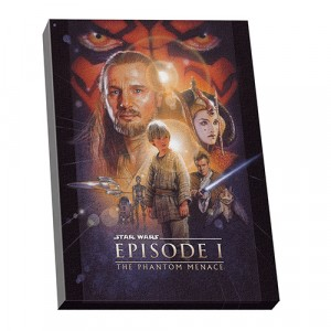 STAR WARS EPISODE 1 WALL CANVAS