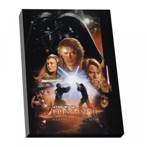 STAR WARS EPISODE 3 WALL CANVAS