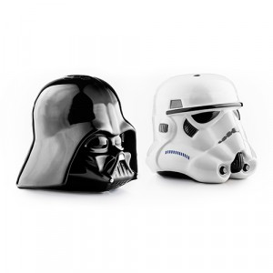 STAR WARS VADER & STORM SALT & PEPPER SHAKERS
