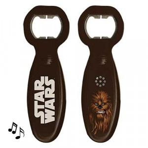 STAR WARS CHEWBACCA MUSICAL BOTTLE OPENER